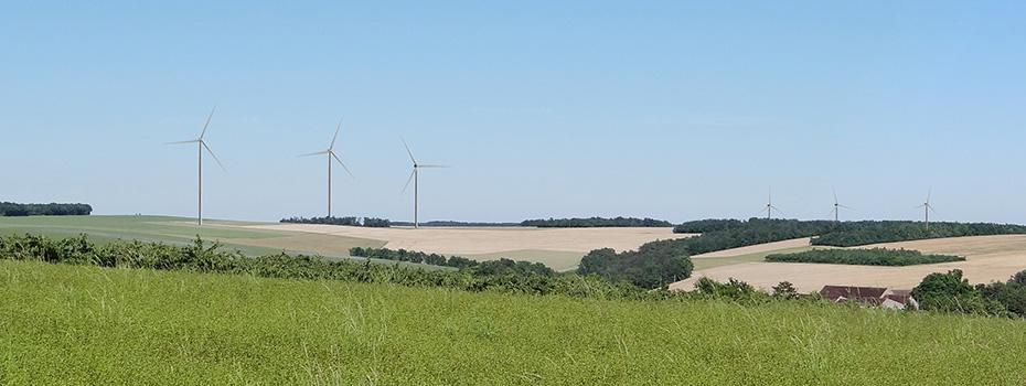 Parc éolien des Coteaux de l'Yonne